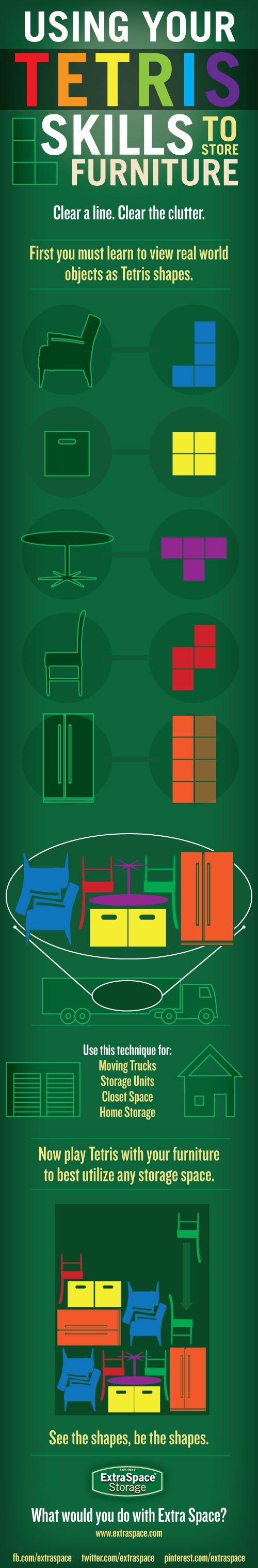 Tus conocimientos de Tetris en las mudanzas