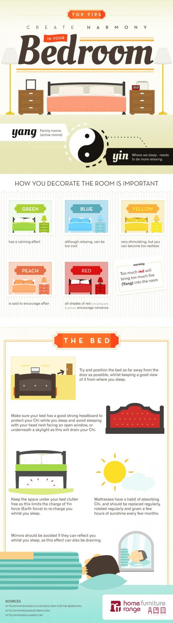 Aplica el Feng Shui en tu dormitorio