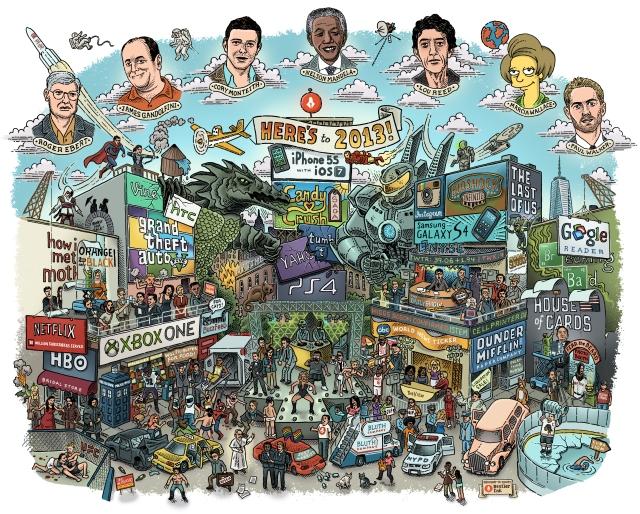 Resumen del año 2013 en una imagen